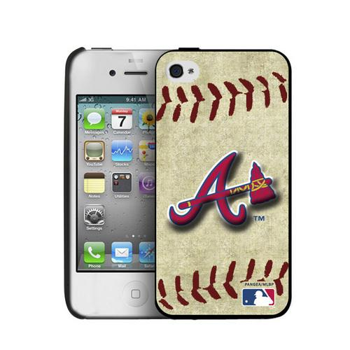 Iphone 4/4S Hard Cover Case Vintage Edition - Atlanta Braves