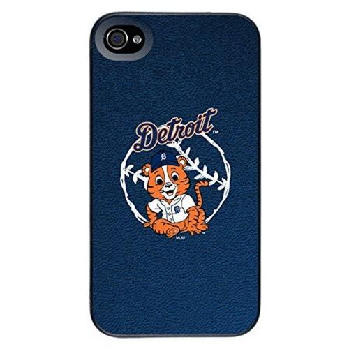 Detroit Tigers - Baby Mascot design on a Black iPhone 4s / 4 Thinshield Snap-On Case