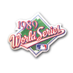 MLB World Series Patch - 1989 Oakland Athletics