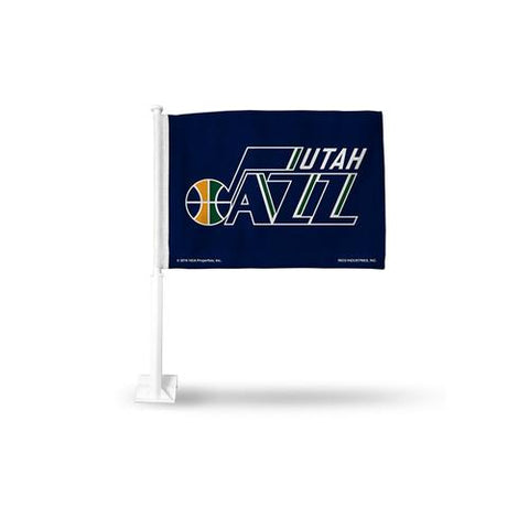 Utah Jazz NBA Team Color Car Flag