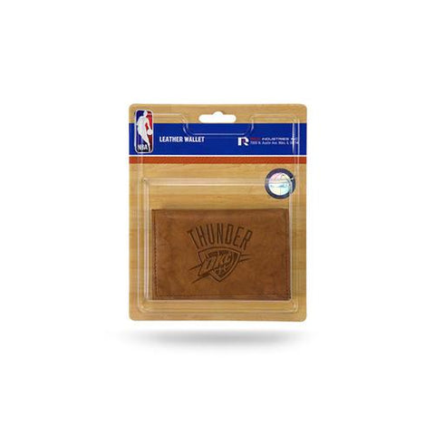 Oklahoma City Thunder NBA Manmade Leather Tri-Fold