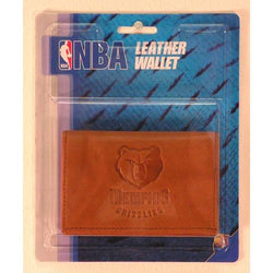 Memphis Grizzlies NBA Manmade Leather Tri-Fold