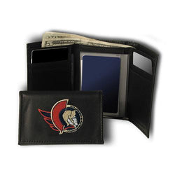 Ottawa Senators NHL Embroidered Trifold Wallet
