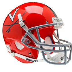 Virginia Cavaliers NCAA Replica Air XP Full Size Helmet (Alternate Orange w/Gray Guard 2)