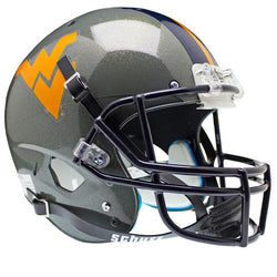 West Virginia Mountaineers NCAA Replica Air XP Full Size Helmet (Alternate Gray 1)