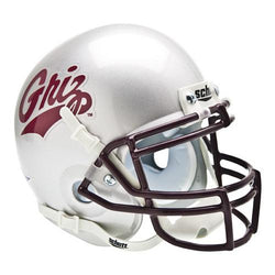 Montana Grizzlies NCAA Authentic Mini 1/4 Size Helmet