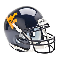 West Virginia Mountaineers NCAA Authentic Mini 1/4 Size Helmet