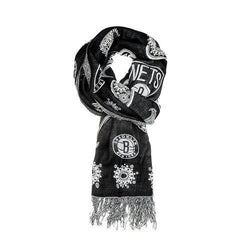 Brooklyn Nets NBA Fashion Team Scarf