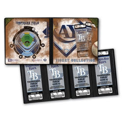 Ticket Album MLB - Tampa Bay Rays (Holds 64 Tickets)