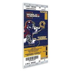 MLB Mini-Mega Ticket 2005 World Series Game 1 Chicago White Sox vs Houston Astros