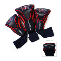 Columbus Blue Jackets NHL 3 Pack Contour Fit Headcover