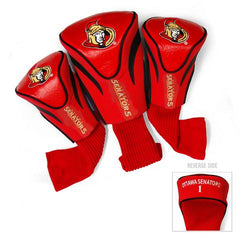 Ottawa Senators NHL 3 Pack Contour Fit Headcover
