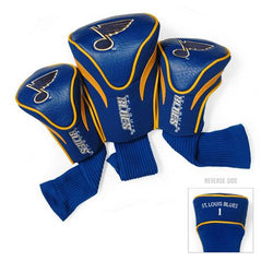 St. Louis Blues NHL 3 Pack Contour Fit Headcover