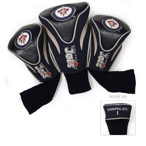 Winnipeg Jets NHL 3 Pack Contour Fit Headcover