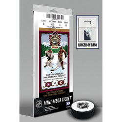 2011 Heritage Classic Mini-Mega Ticket - Canadiens vs Flames
