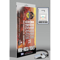 2011 BCS Championship Game Mini-Mega Ticket - Auburn vs Oregon