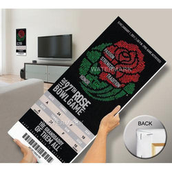 2011 Rose Bowl Mega Ticket - TCU