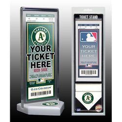 Thats My Ticket Oakland Athletics Ticket Stand