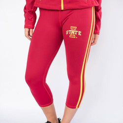 Iowa State Cyclones NCAA Womens Yoga Pant (Red)