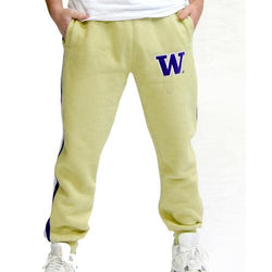 Washington Huskies NCAA Mens Jogger Pant (Gold)