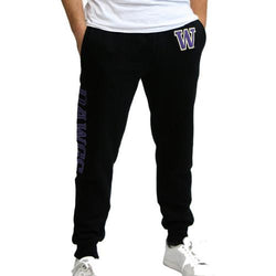 Washington Huskies NCAA Mens Jogger Pant (Black)
