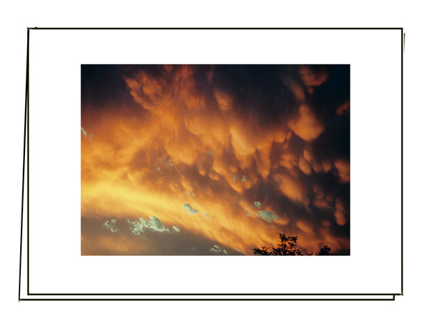 Mammatus at Sunset