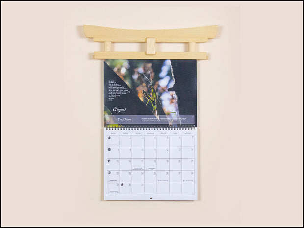 Torii Gate Calendar Scroll