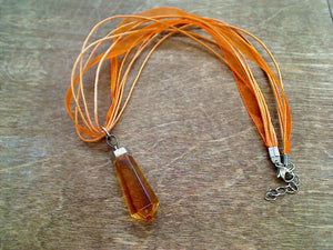 Citrine Point Necklace