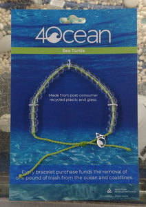 Sea Turtle Bracelet by 4 Ocean