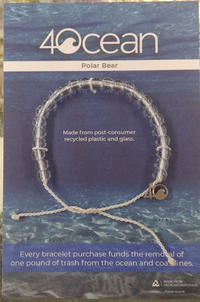 Polar Bear Bracelet by 4 Ocean