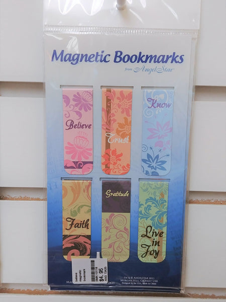 Religious God Themed Magnetic Bookmarks Set