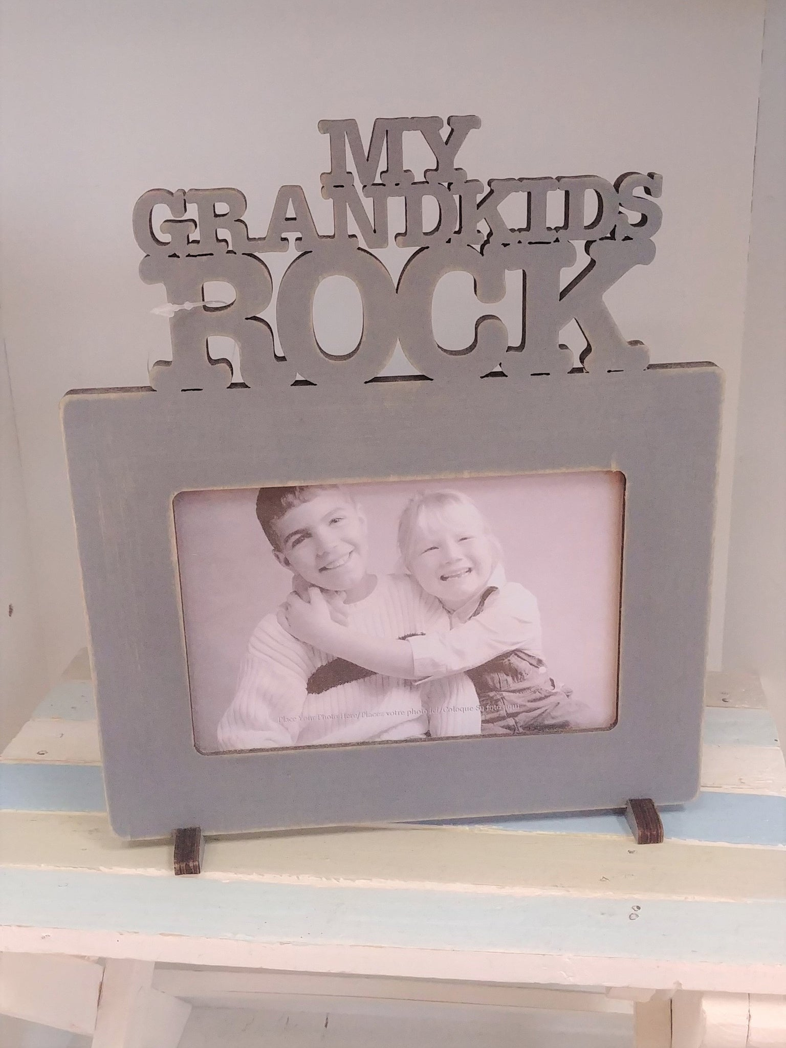 """My Grandkids Rock"" Picture Frame"