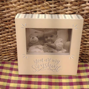 """You Are My Sunshine"" Picture Frame"