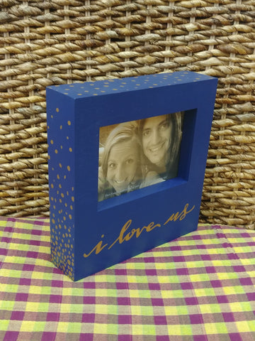 """I Love Us"" Picture Frame"