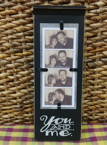 """You And Me"" Photo Booth Frame"