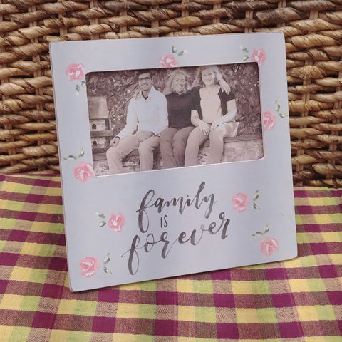 """Family Is Forever"" Picture Frame"