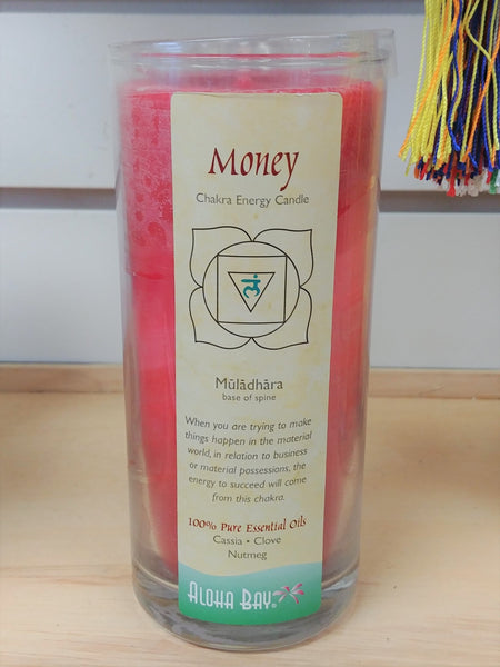 Root Chakra Energy Candle - Money