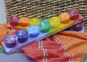 Chakra Votive Candles Set
