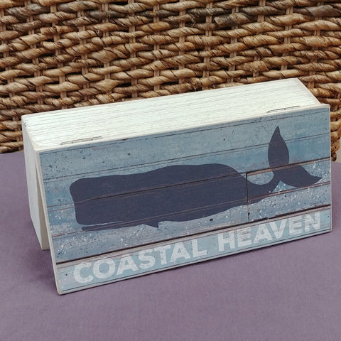 """Coastal Heaven"" Wood Box"
