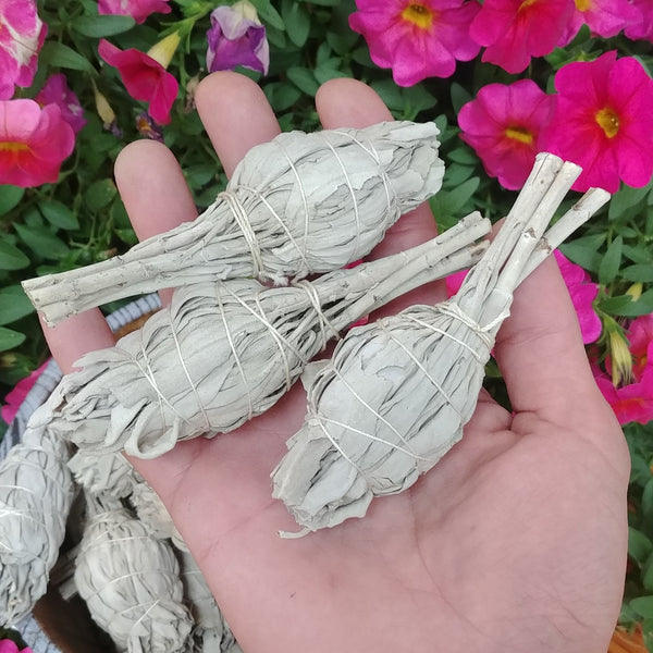 Individual Sage Smudge Sticks, Small Size