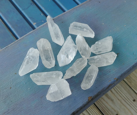 Quartz Crystal Points - Natural