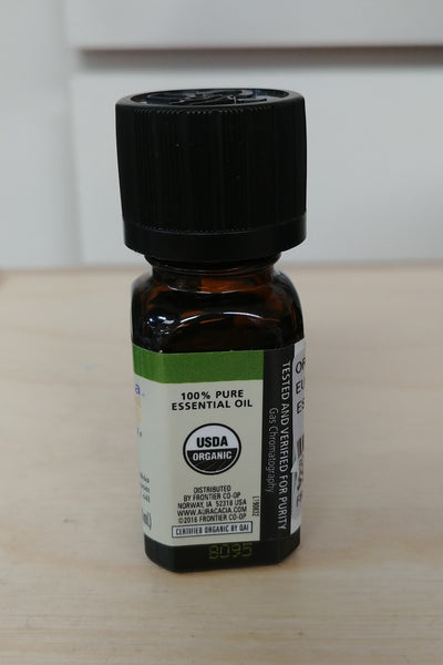 Organic Lemon Eucalyptus .25oz Pure Essential Oil
