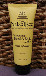Unscented Hand Body Lotion 2.25 oz