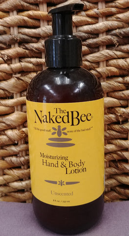 Unscented Hand Body Lotion 8 oz