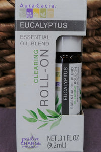 Eucalyptus Clearing Essential Oil Roll-On