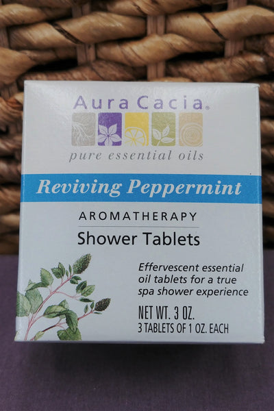 Peppermint Aromatherapy Shower Tablets