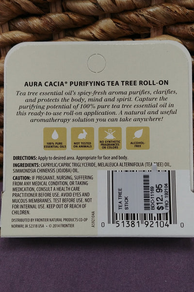 Tea Tree Purifying Aromatherapy Roll-On