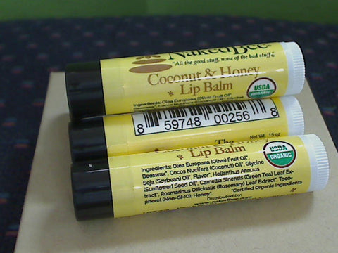 Coconut / Honey Orgnic Lip Balm
