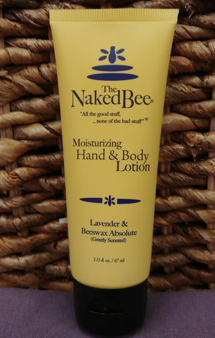 Lavender / Beeswax Hand Body Lotion 2.25 oz