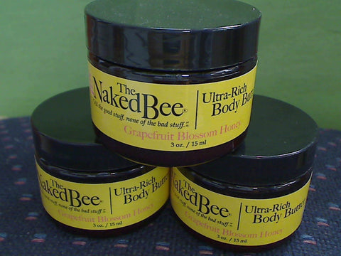 Grapefruit Blossom Honey Body Butter, 3 oz